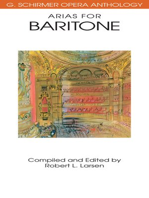cover image of Arias for Baritone