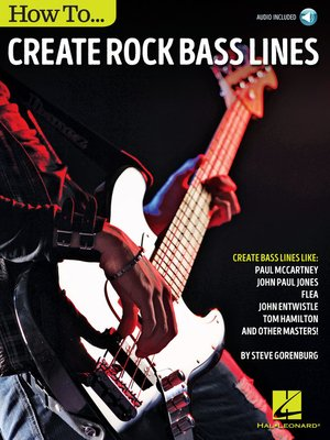 cover image of How to Create Rock Bass Lines