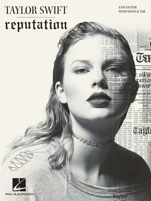 cover image of Taylor Swift--Reputation Songbook
