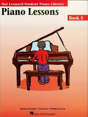 cover image of Piano Lessons Book 5 (Music Instruction)