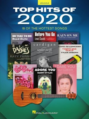 cover image of Top Hits of 2020 Ukulele Songbook