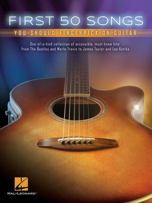 cover image of First 50 Songs You Should Fingerpick on Guitar