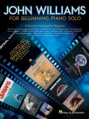 cover image of John Williams for Beginning Piano Solo