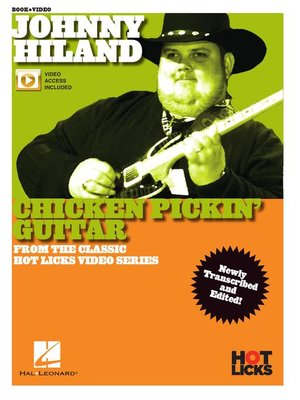 cover image of Johnny Hiland, Chicken Pickin' Guitar