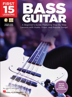 cover image of First 15 Lessons--Bass Guitar