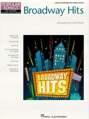 cover image of Broadway Hits (Songbook)