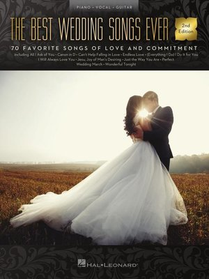 cover image of The Best Wedding Songs Ever