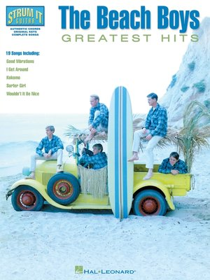 cover image of The Beach Boys--Greatest Hits (Songbook)