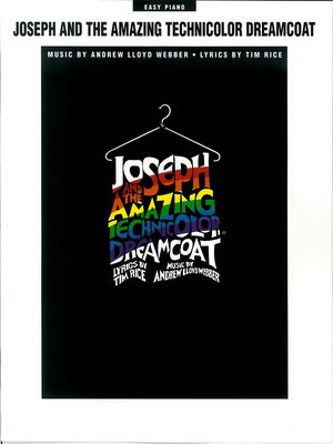 cover image of Joseph and the Amazing Technicolor Dreamcoat (Songbook)