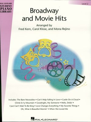 cover image of Broadway and Movie Hits--Level 2 (Songbook)