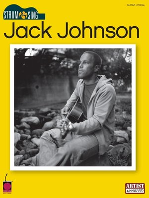 cover image of Jack Johnson--Strum & Sing (Songbook)