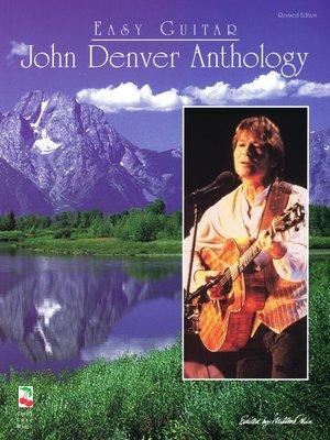 cover image of John Denver Anthology for Easy Guitar (Songbook)