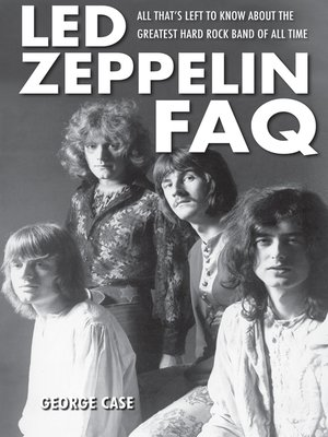cover image of Led Zeppelin FAQ
