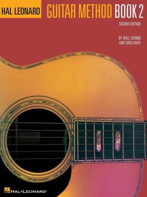 cover image of Hal Leonard Guitar Method Book 2