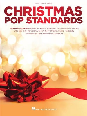 cover image of Christmas Pop Standards Songbook