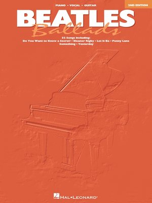 cover image of Beatles Ballads  (Songbook)