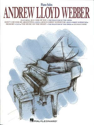 cover image of Andrew Lloyd Webber for Piano (Songbook)