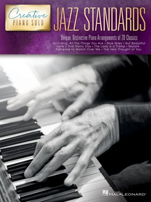 cover image of Jazz Standards--Creative Piano Solo