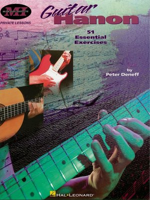 cover image of Guitar Hanon (Music Instruction)