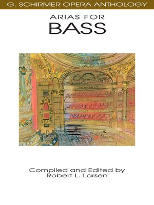cover image of Arias for Bass