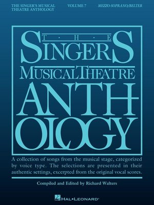 cover image of Singer's Musical Theatre Anthology, Volume 7