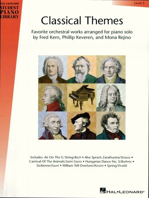 cover image of Classical Themes--Level 5 (Songbook)