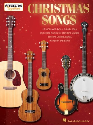 cover image of Christmas Songs--Strum Together
