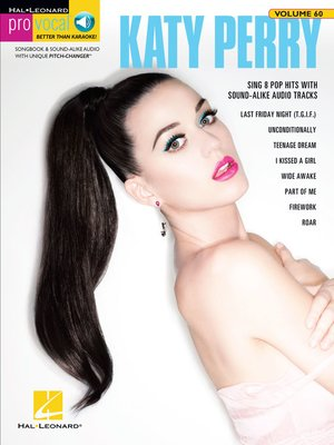 cover image of Katy Perry Songbook (with Audio)