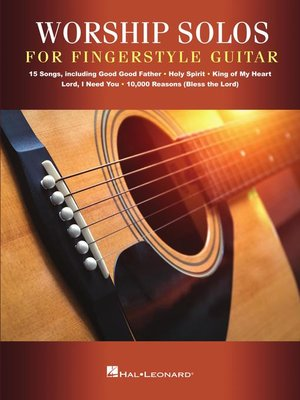 cover image of Worship Solos for Fingerstyle Guitar Songbook