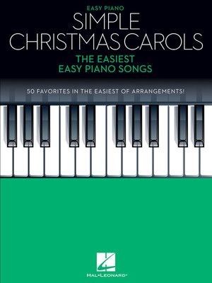 cover image of Simple Christmas Carols