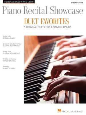 cover image of Piano Recital Showcase--Duet Favorites
