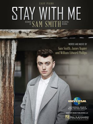 cover image of Stay with Me Easy Piano Sheet Music