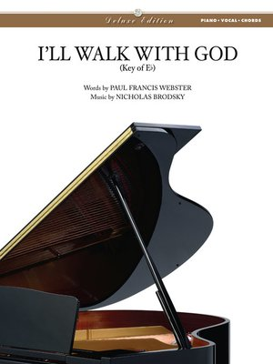 cover image of I'll Walk with God Sheet Music