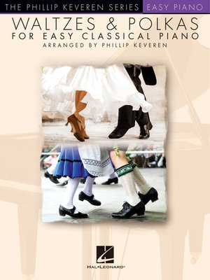 cover image of Waltzes & Polkas for Easy Classical Piano