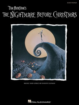 cover image of The Nightmare Before Christmas Songbook