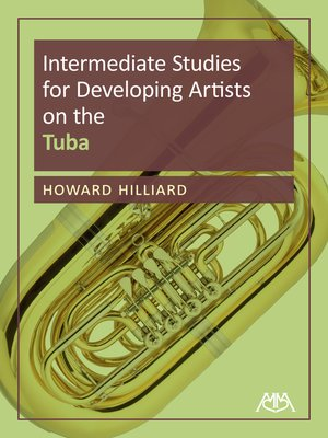 cover image of Intermediate Studies for Developing Artists on Tuba