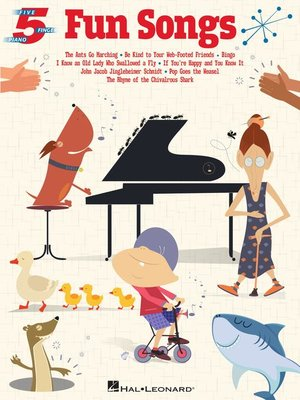cover image of Fun Songs for Five-Finger Piano