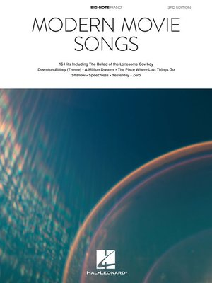 cover image of Modern Movie Songs