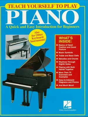cover image of Teach Yourself to Play Piano (Music Instruction)