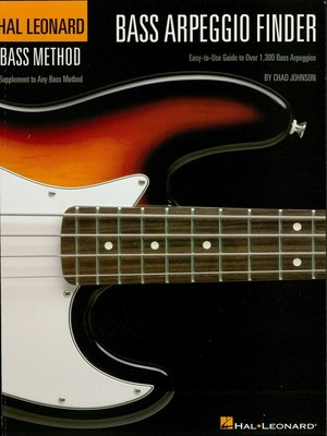 cover image of Bass Arpeggio Finder (Music Instruction)