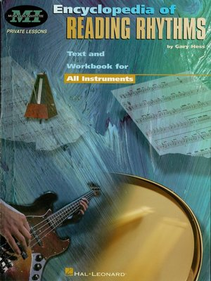 cover image of Encyclopedia of Reading Rhythms