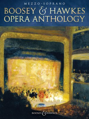 cover image of Boosey & Hawkes Opera Anthology--Mezzo-Soprano