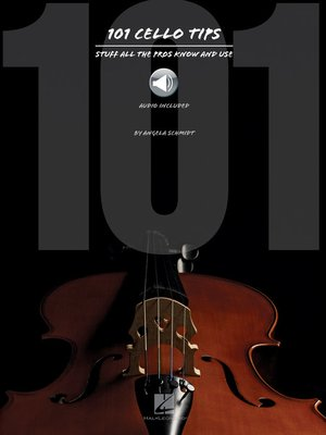 cover image of 101 Cello Tips--Updated Edition