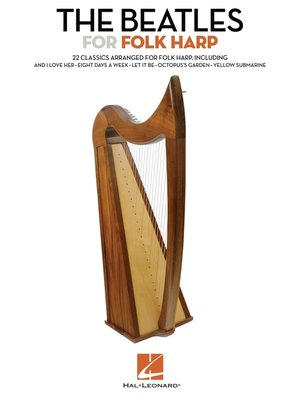 cover image of The Beatles for Folk Harp (Songbook)