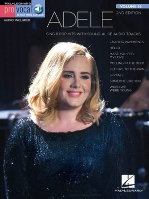cover image of Adele--Pro Vocal Women's Edition