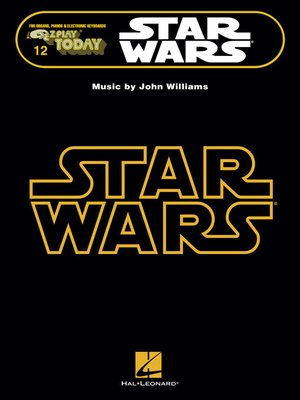cover image of Star Wars--E-Z Play Today Songbook