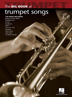 cover image of Big Book of Trumpet Songs (Songbook)