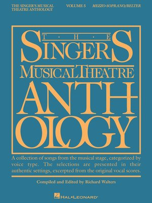 cover image of The Singer's Musical Theatre Anthology--Volume 5