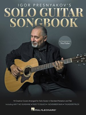 cover image of Igor Presnyakov's Solo Guitar Songbook