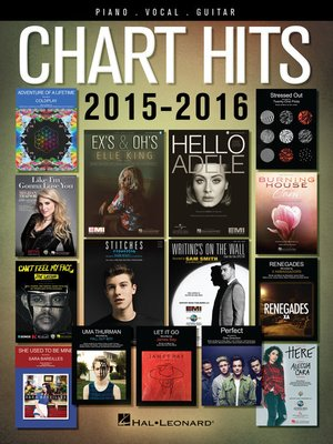 cover image of Chart Hits of 2015-2016 Songbook